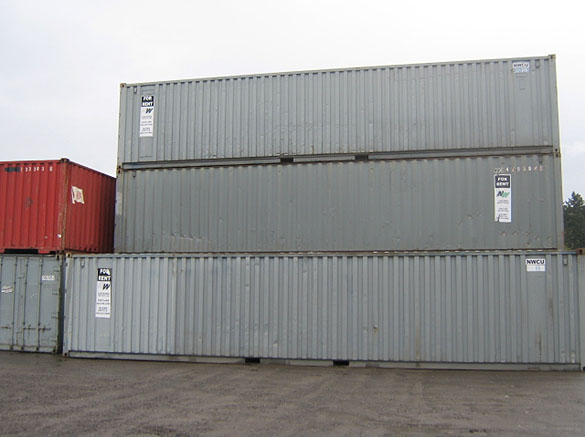 40' and 45' High Cube Dry Container