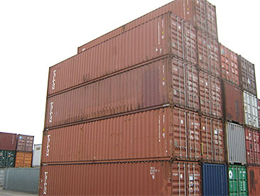 40' used containers