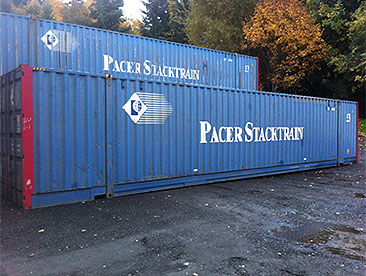 53' used containers